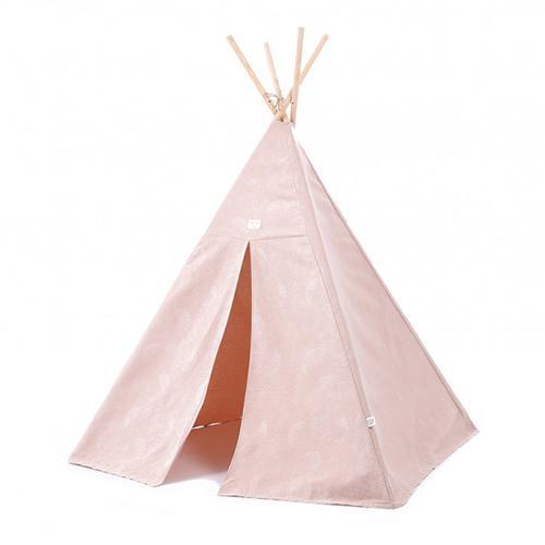 Tipi Phoenix white bubble/ misty pink - Nobodinoz