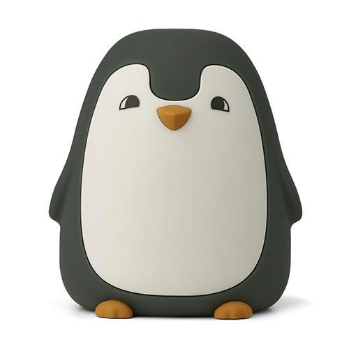 Nachtlampje Ditlev Pinguin hunter green - Liewood