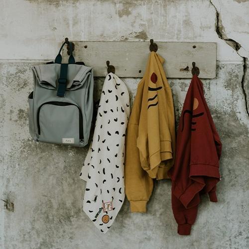 Mini bag Canvas Cloud Grey - Dusq