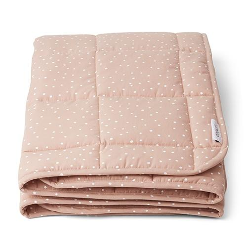 Quilted deken Ebbe Confetti rose - Liewood