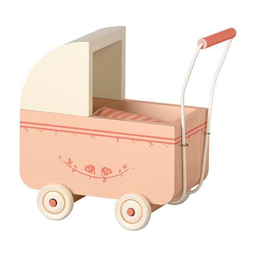 Micro kinderwagen roze - Maileg