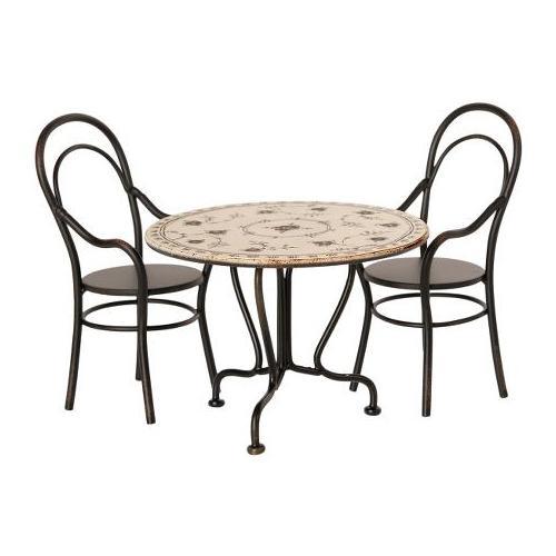 Set tafel en stoelen - Maileg