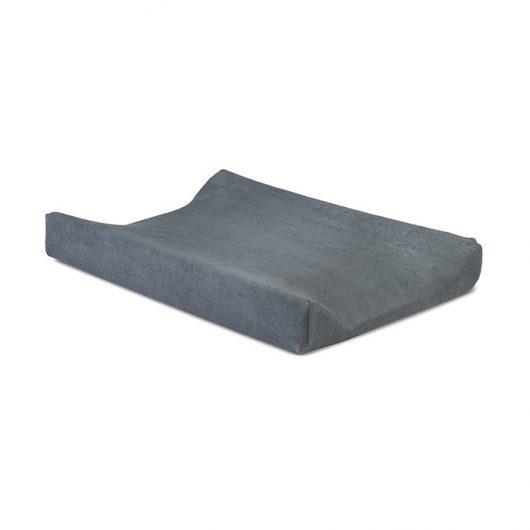 Waskussenhoes badstof dark grey - Jollein