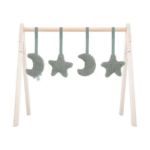 Babygym speeltjes Moon Ash green - Jollein