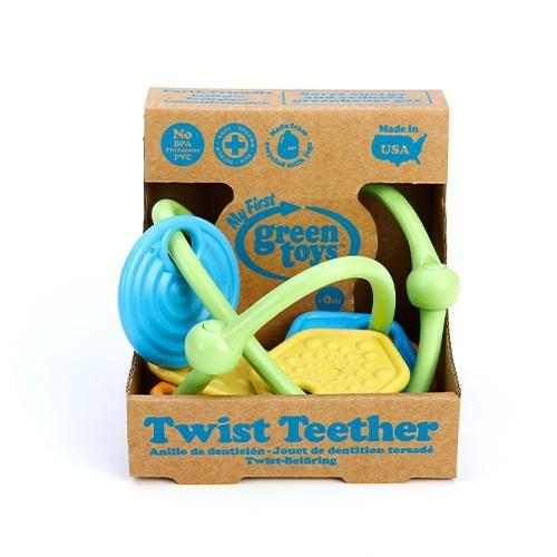 Bijtring Twist - Green toys