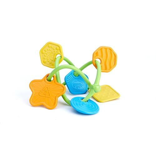 Bijtring Twist - Green toys