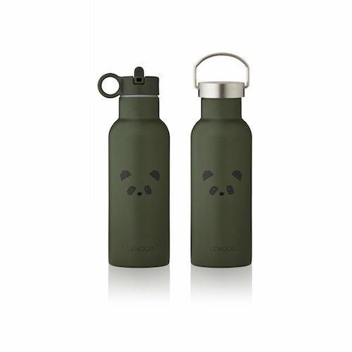 Drinkfles Neo Panda hunter green - Liewood