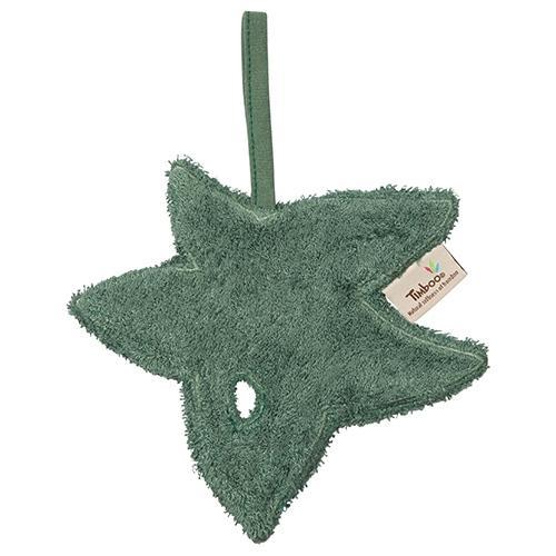 Fopspeendoekje blad Aspen Green - Timboo