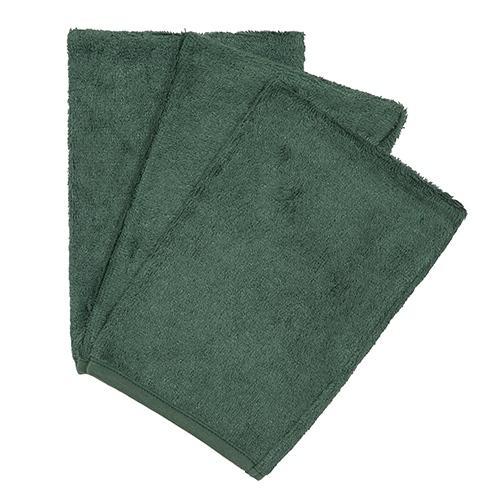 Washandjes Aspen Green (3pack) - Timboo