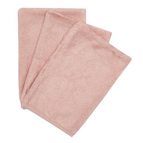 Washandjes Misty Rose (3pack) - Timboo