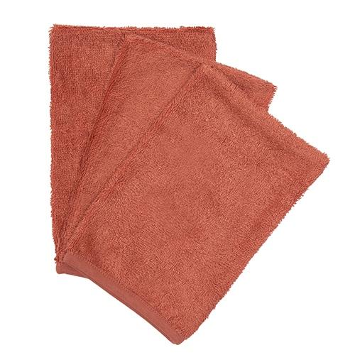 Washandjes Apricot Blush (3pack) - Timboo