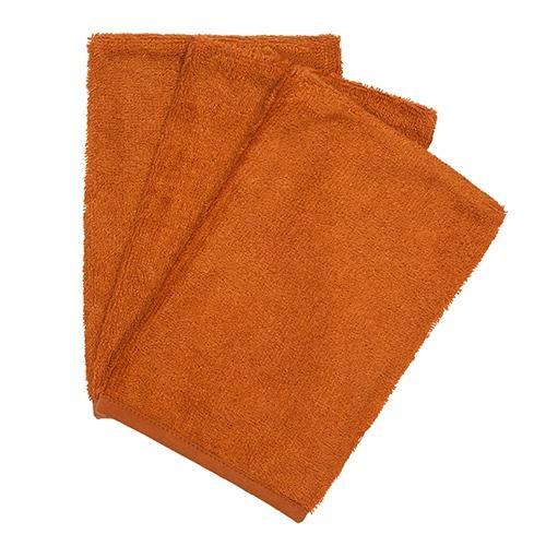 Washandjes Inca Rust (3pack) - Timboo