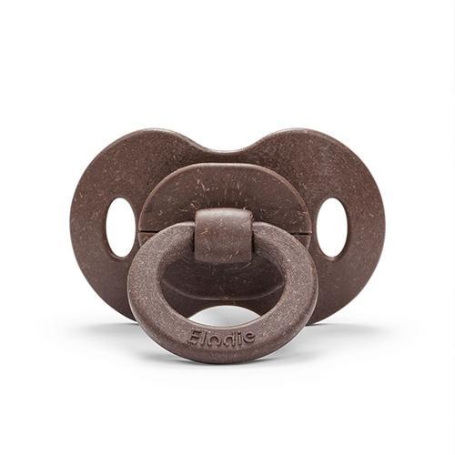 Bamboe fopspeen latex Chocolate - Elodie details