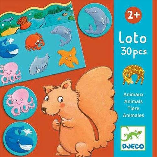 Lotto dieren - Djeco