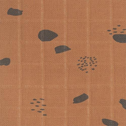 Hydrofiele multidoeken large 115x115cm - Spot caramel (2pack) - Jollein