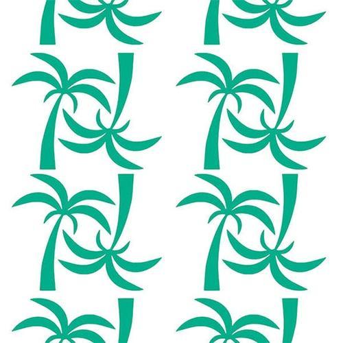 Muurstickers Palmbomen groen - Pöm
