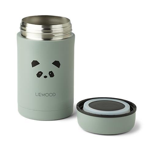 Thermosbox Bernard Panda peppermint - 500ml - Liewood