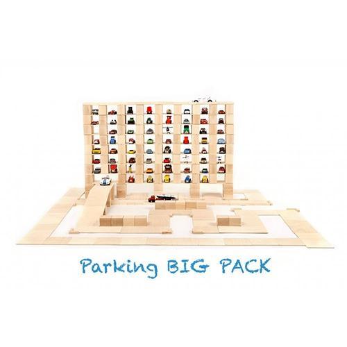 Houten blokken Big pack 336 stuks - Just blocks