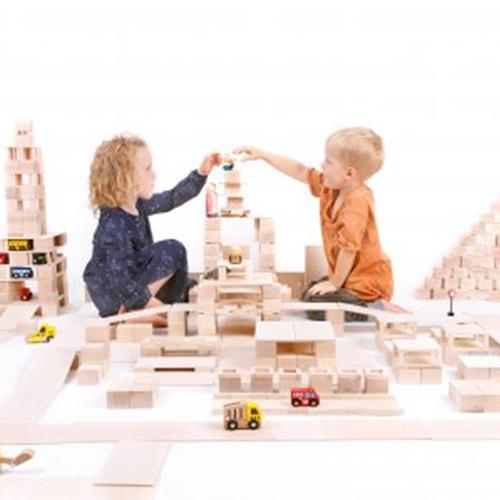 Houten blokken - Just blocks