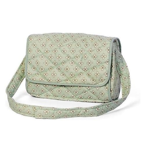 Poppen luiertas deluxe mint - Mini Mommy