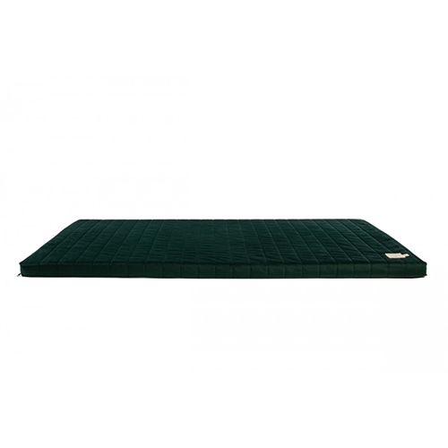 Matras Zanzibar velvet Jungle Green - Nobodinoz