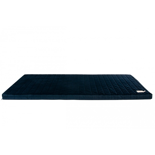 Matras Zanzibar velvet Night Blue - Nobodinoz