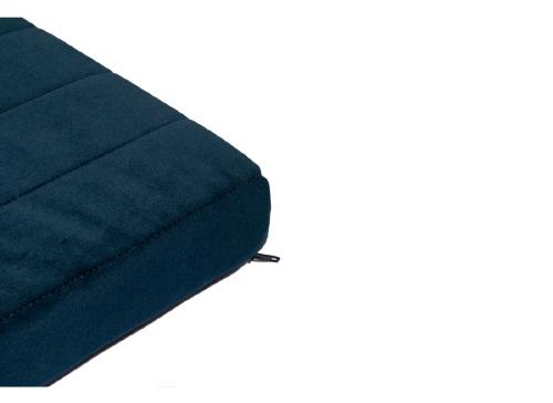 Matras Zanzibar velvet Night Blue - Nobodinoz
