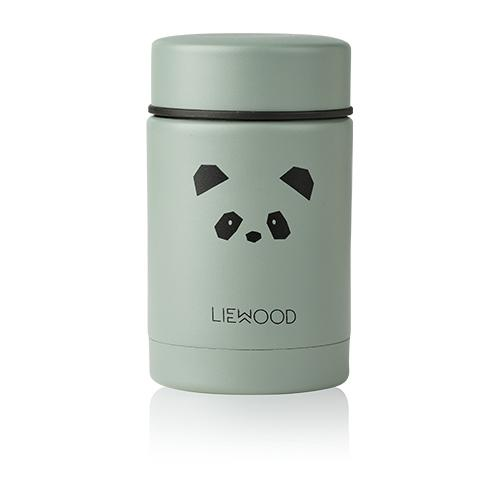 Thermosbox Nadja Panda peppermint - Liewood