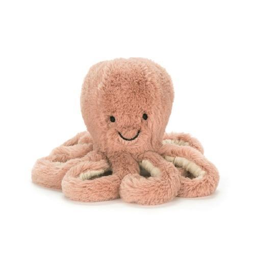 Knuffel Odell Octopus Baby - Jellycat