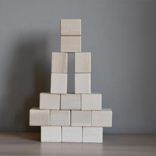 Houten blokken Baby pack 16 stuks - Just blocks