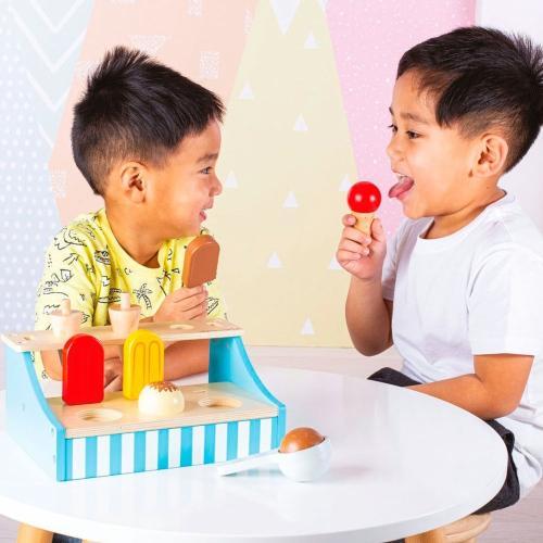 Houten ijsjeskraam - Bigjigs