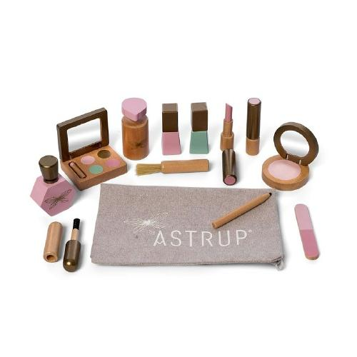 Houten makeup set - by Astrup