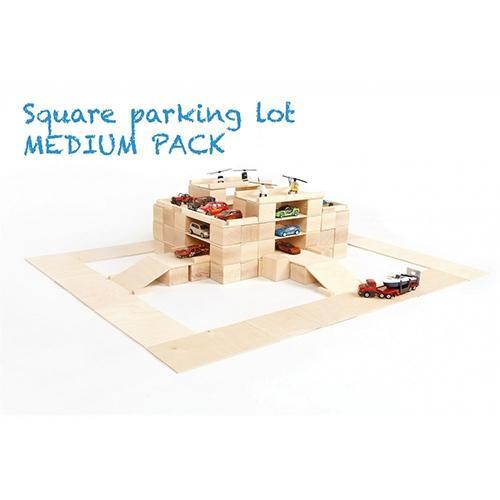 Houten blokken Medium pack 166 stuks - Just blocks