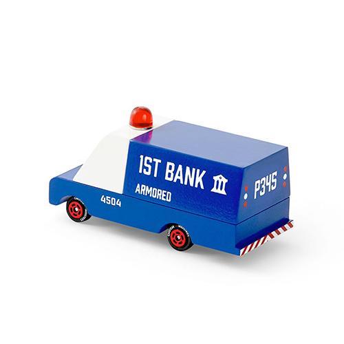 Armored Bank Van