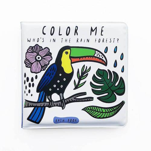 Bad boekje Coulour me Rainforest - Wee Gallery