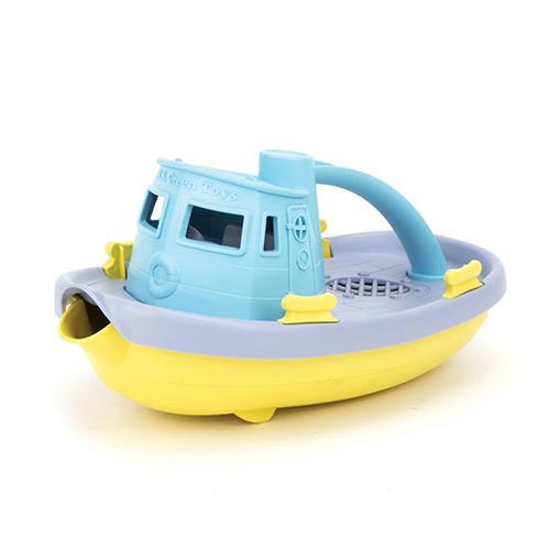 Sleepboot lichtblauw - Green toys