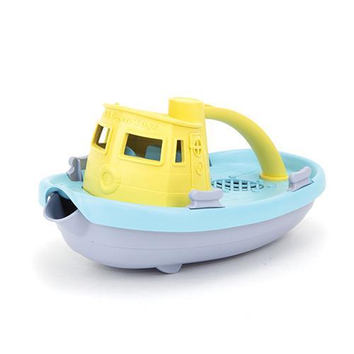 Sleepboot lichtgeel - Green toys