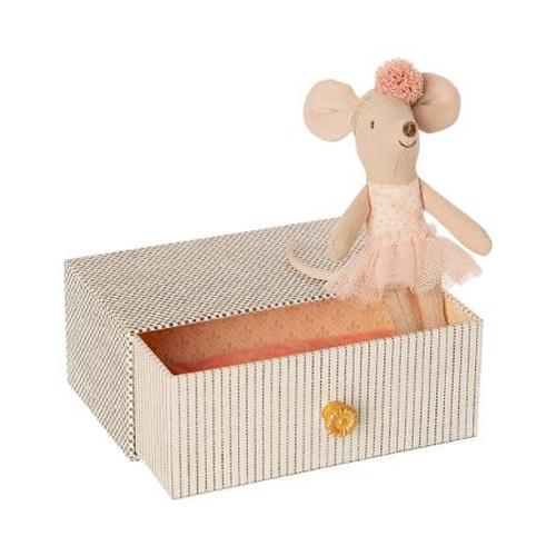 Dansende muis in ligbed - Maileg