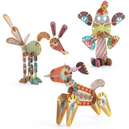 3D puzzel Volubo dieren - Djeco