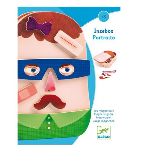 Magnetische puzzel Inzebox Portraito - Djeco
