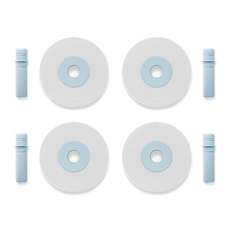 Foam wielen blauw - MODU