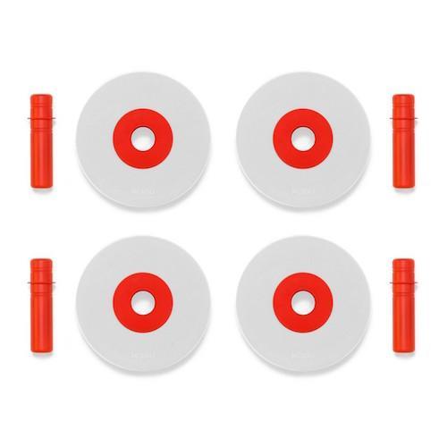 Foam wielen rood - MODU