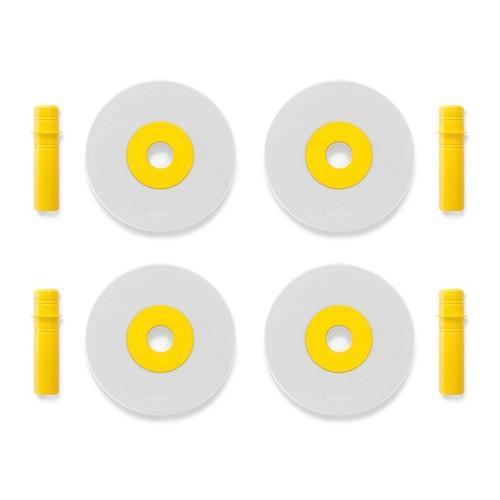 Foam wielen geel - MODU