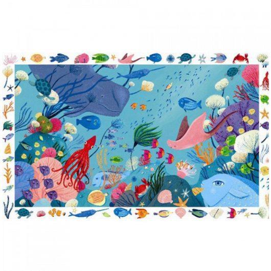 Observatiepuzzel onderwaterwereld (54PC) - Djeco