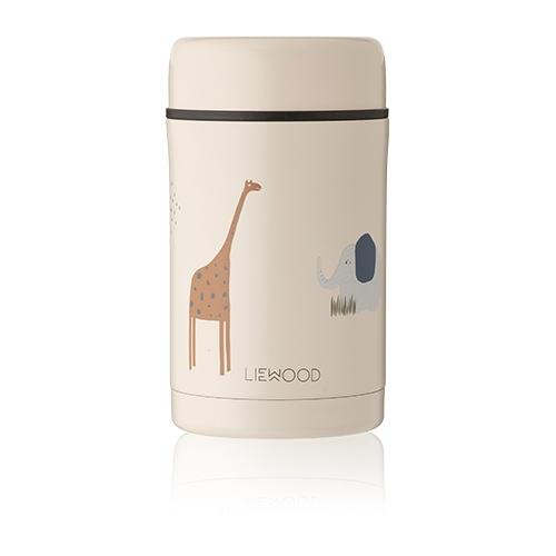 Thermosbox Bernard Safari mix - 500ml - Liewood