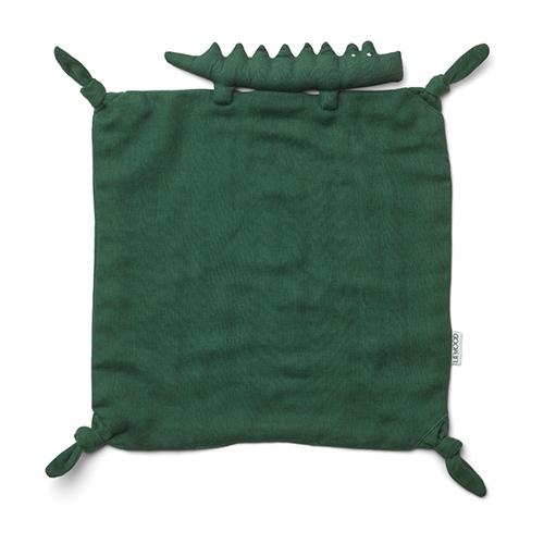 Knuffeldoekje Agnete Crocodile Garden green - Liewood