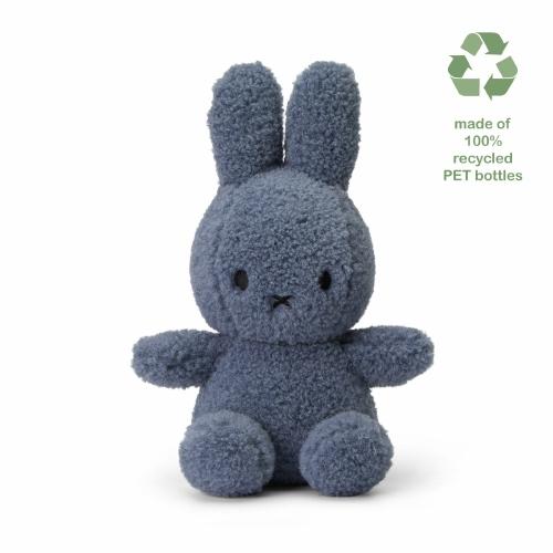 Knuffel Nijntje Teddy blauw S - Nijtje Miffy