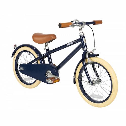 Fiets met pedalen Classic Blue - Banwood