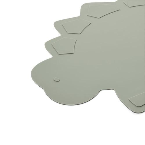 Placemat Tracy Dino Dove blue - Liewood