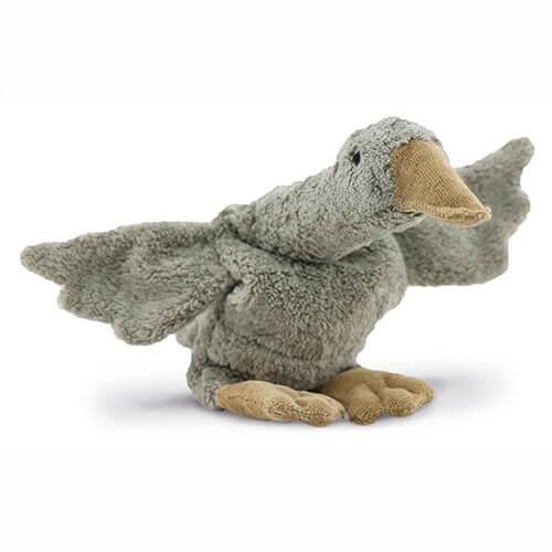 Warmteknuffel Goose small grey - Senger Naturwelt